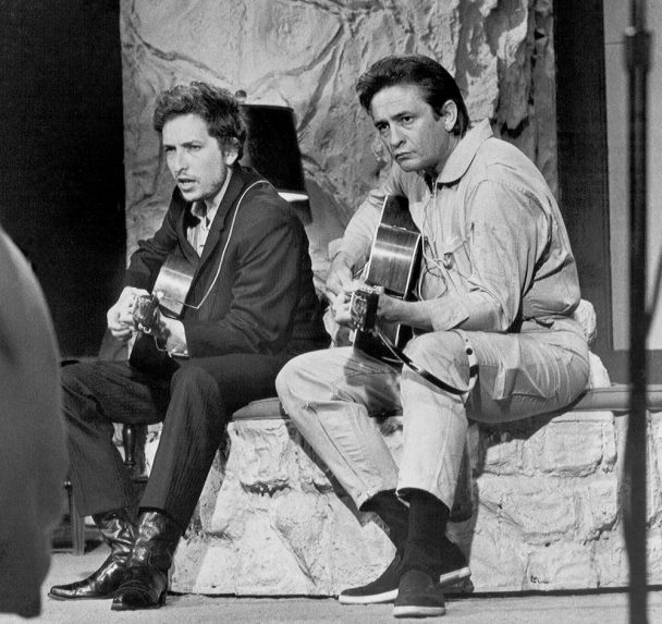 Previously Unreleased Bob Dylan & Johnny Cash Duets Collected On New 'Bootleg Series Vol. 15'