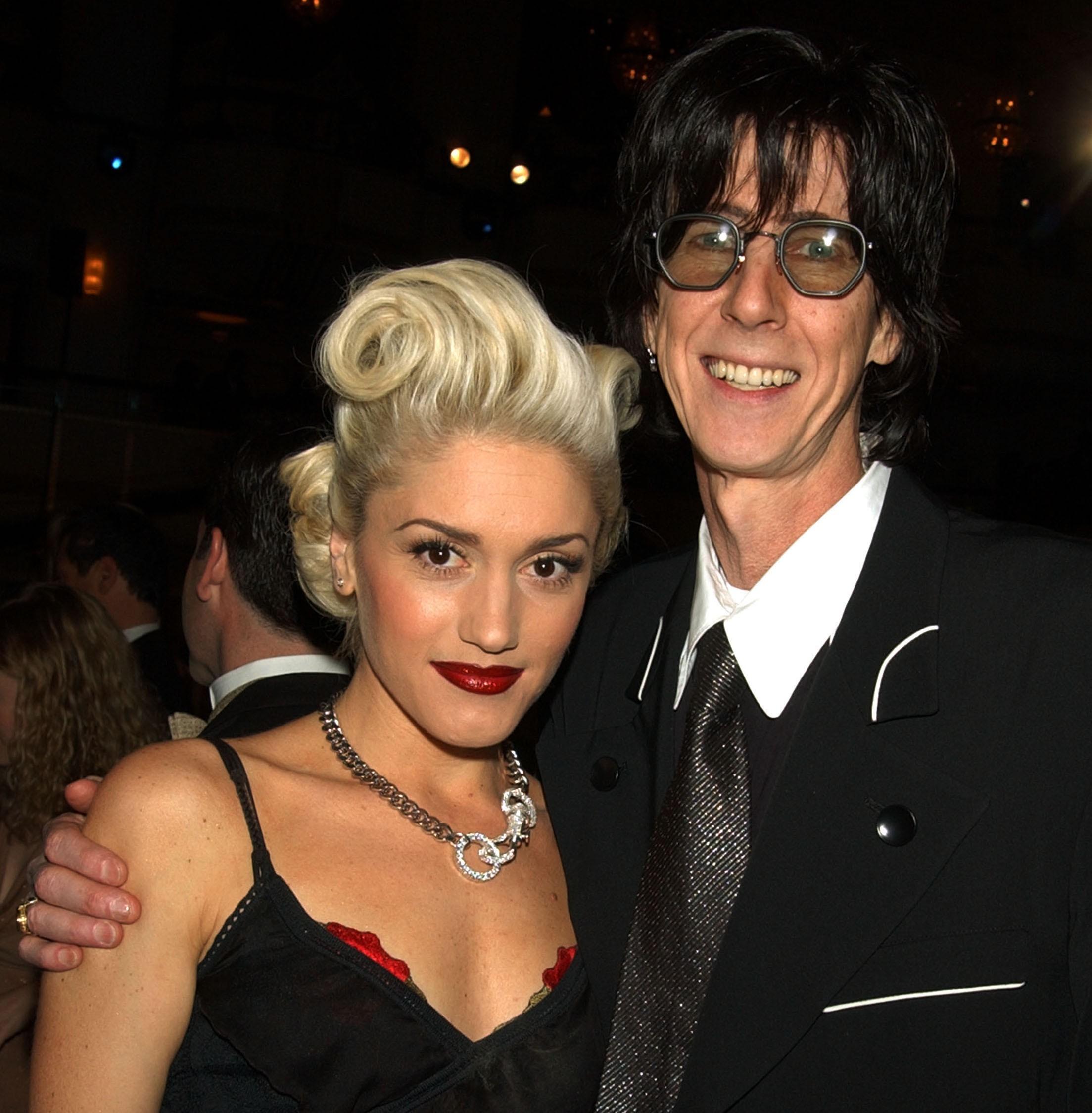 Gwen Stefani & Ric Ocasek