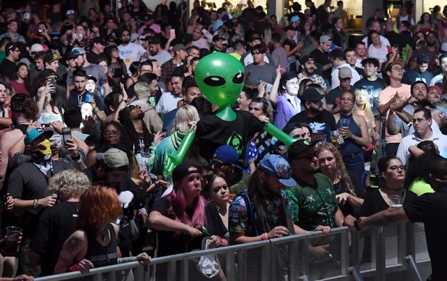 Area 51 Celebration In Las Vegas