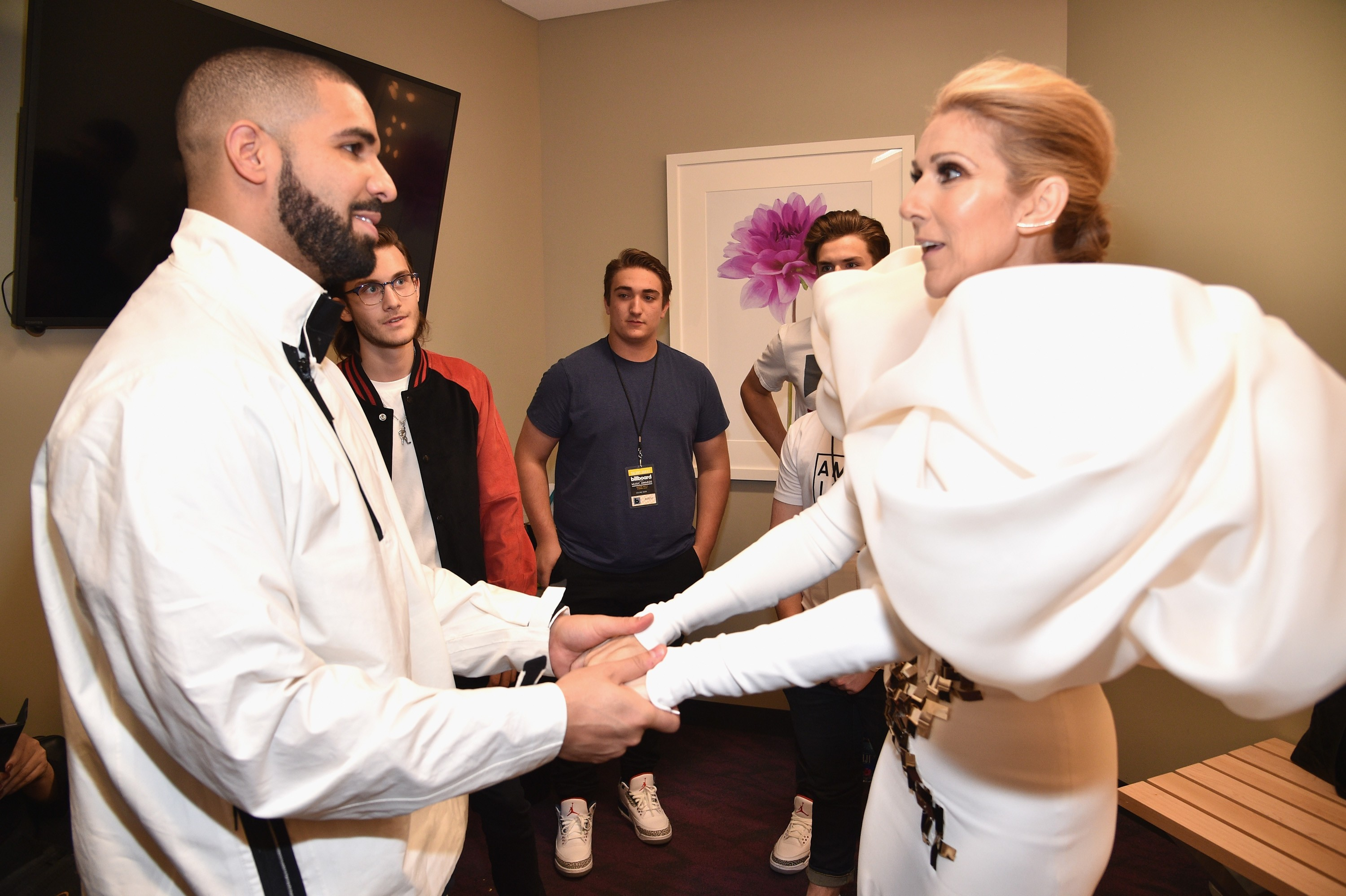 Image result for drake and celine dion