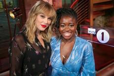 Taylor Swift & Clara Amfo