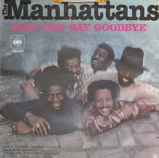 The-Manhattans-Kiss-And-Say-Goodbye