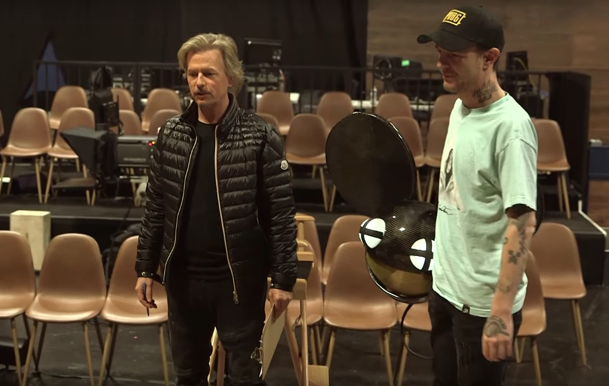 Watch Diplo & Deadmau5 Guest On David Spade's Lights Out
