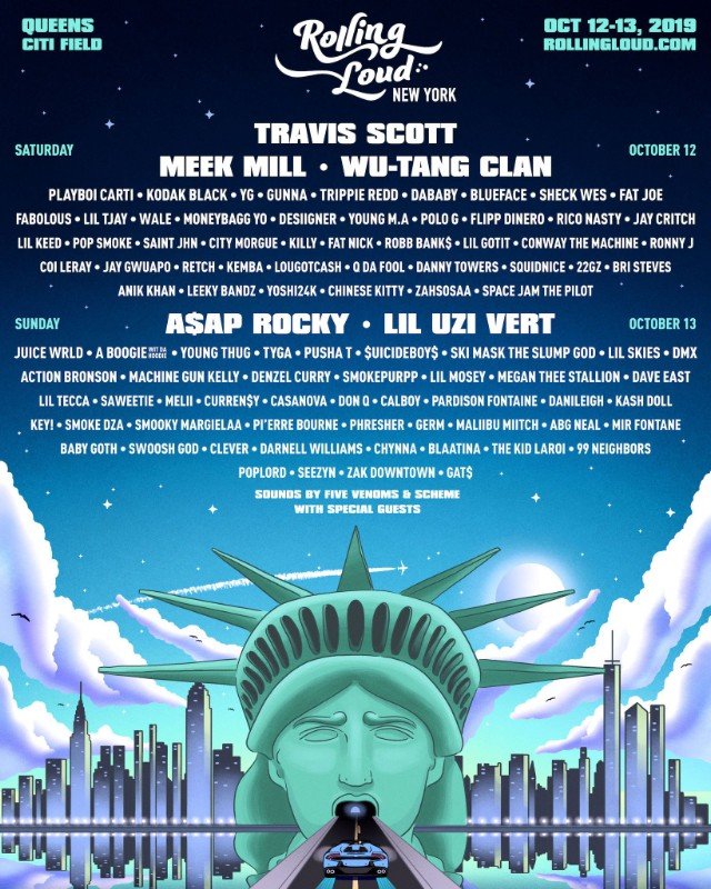 Five rappers removed from NYC festival at request of police