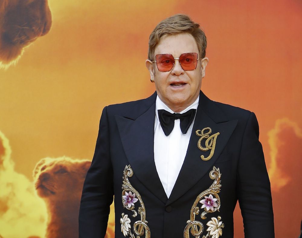 Elton John Thinks The New Lion King Sucks