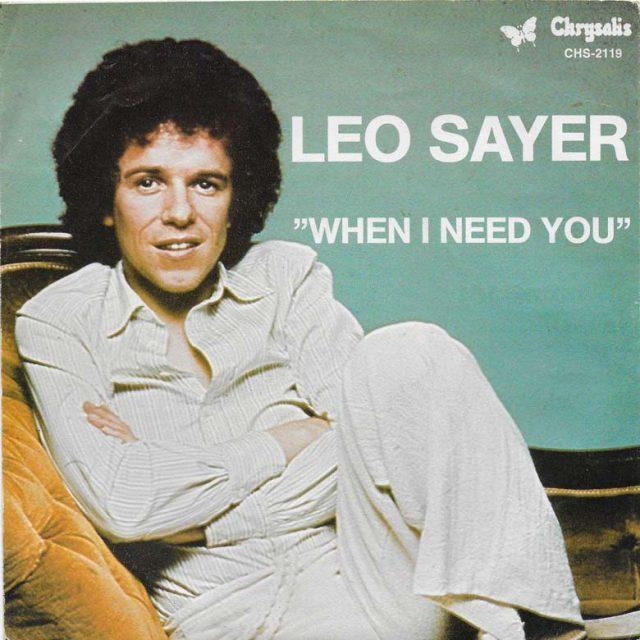 Leo-Sayer-When-I-Need-You