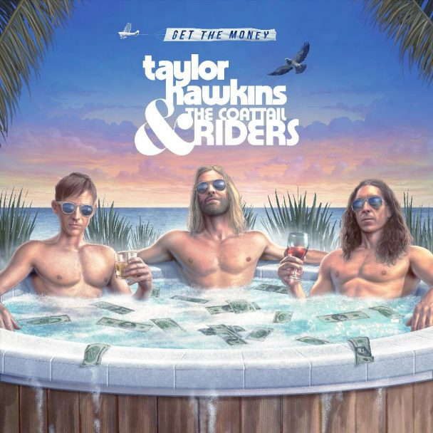 """Taylor Hawkins & The Coattail Riders – """"Crossed The Line"""" (Feat. Dave Grohl & Jon Davison)"""