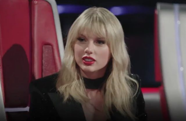 Taylor Swift Sings The Names Of All 50 States On The Voice Watch Stereogum