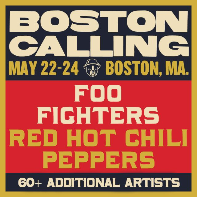 Foo Fighters, Red Hot Chili Peppers To Headline Boston Calling 2020