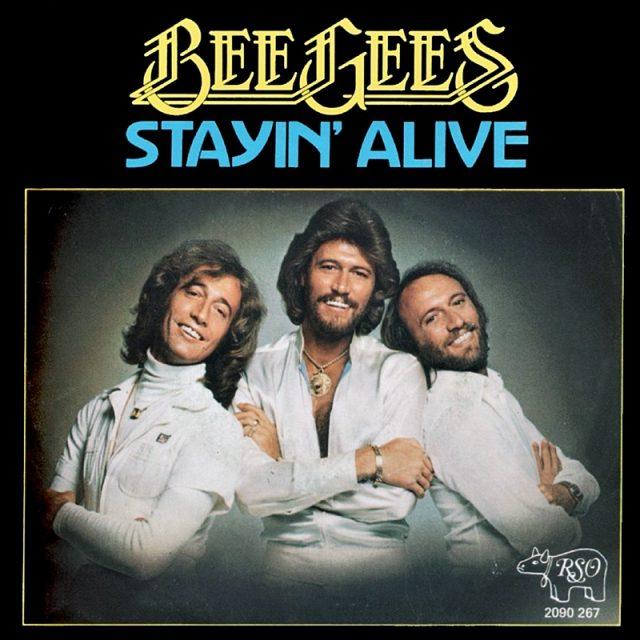 Image result for stayin alive- the bee gees images