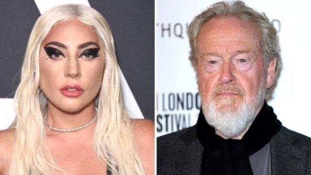 Lady Gaga & Ridley Scott