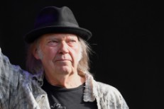 Neil Young Performs At Hyde Park - London