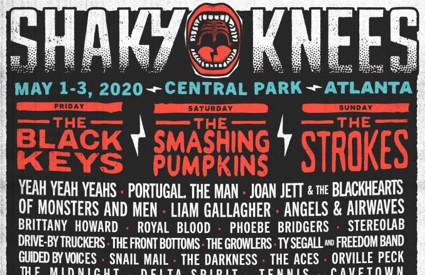 Smashing Pumpkins Tour Dates 2020.Shaky Knees Lineup 2020 Black Keys Smashing Pumpkins