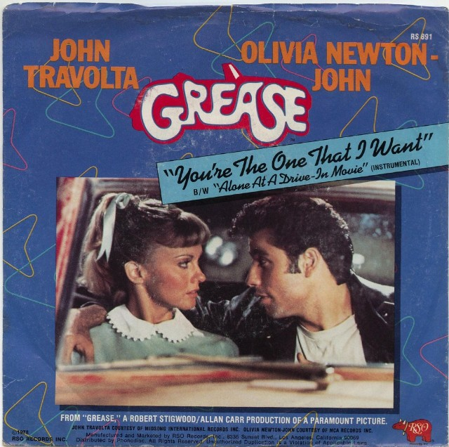The Number Ones John Travolta Olivia Newton John S You Re The One That I Want Stereogum
