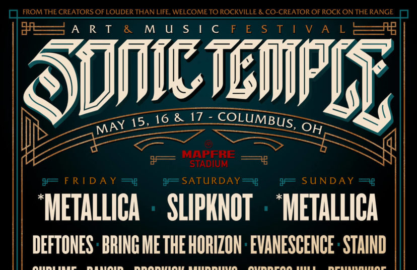 2020 Warped Tour Lineup.Sonic Temple Announces 2020 Lineup With Metallica Slipknot