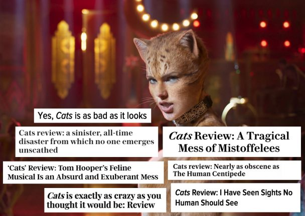 Critics Hate \u0027Cats\u0027 Here Are The Most Vicious Movie Reviews