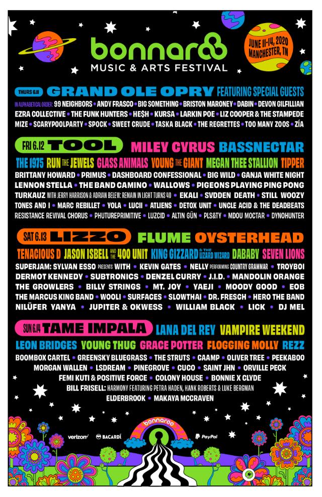 Bonnaroo-2020-Lineup-Poster