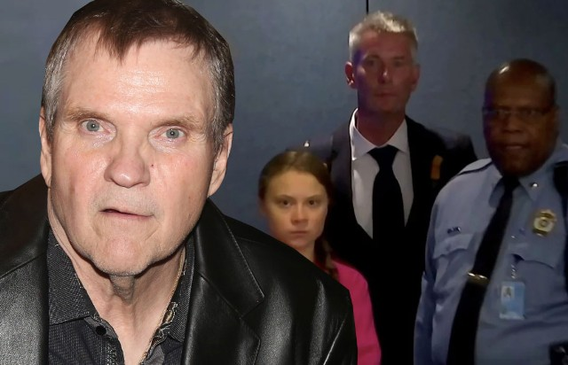Meat Loaf And Greta Thunberg