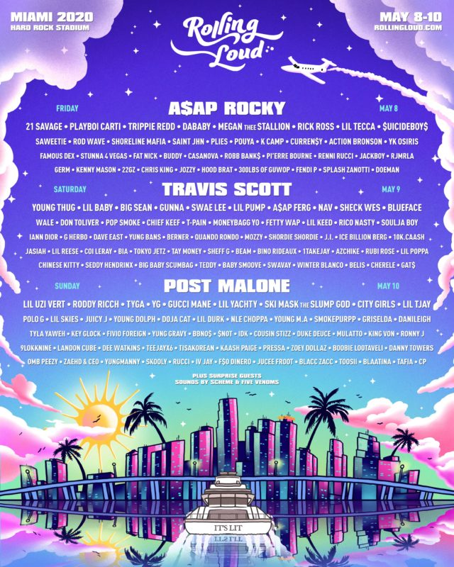 rolling loud miami lineup