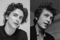 Timothee Chalamet And Bob Dylan