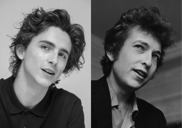 Timothée Chalamet Cast As Bob Dylan In New Biopic