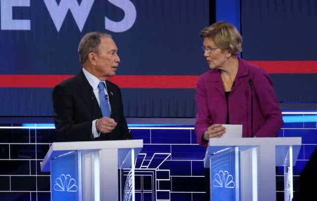 Michael-Bloomberg-Elizabeth-Warren