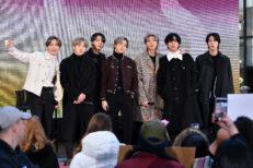 K Pop Band BTS Visits