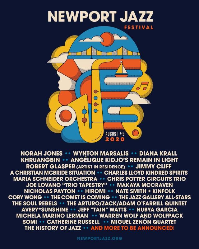 Newport Jazz Festival 2020 - August 7-9, Newport, RI