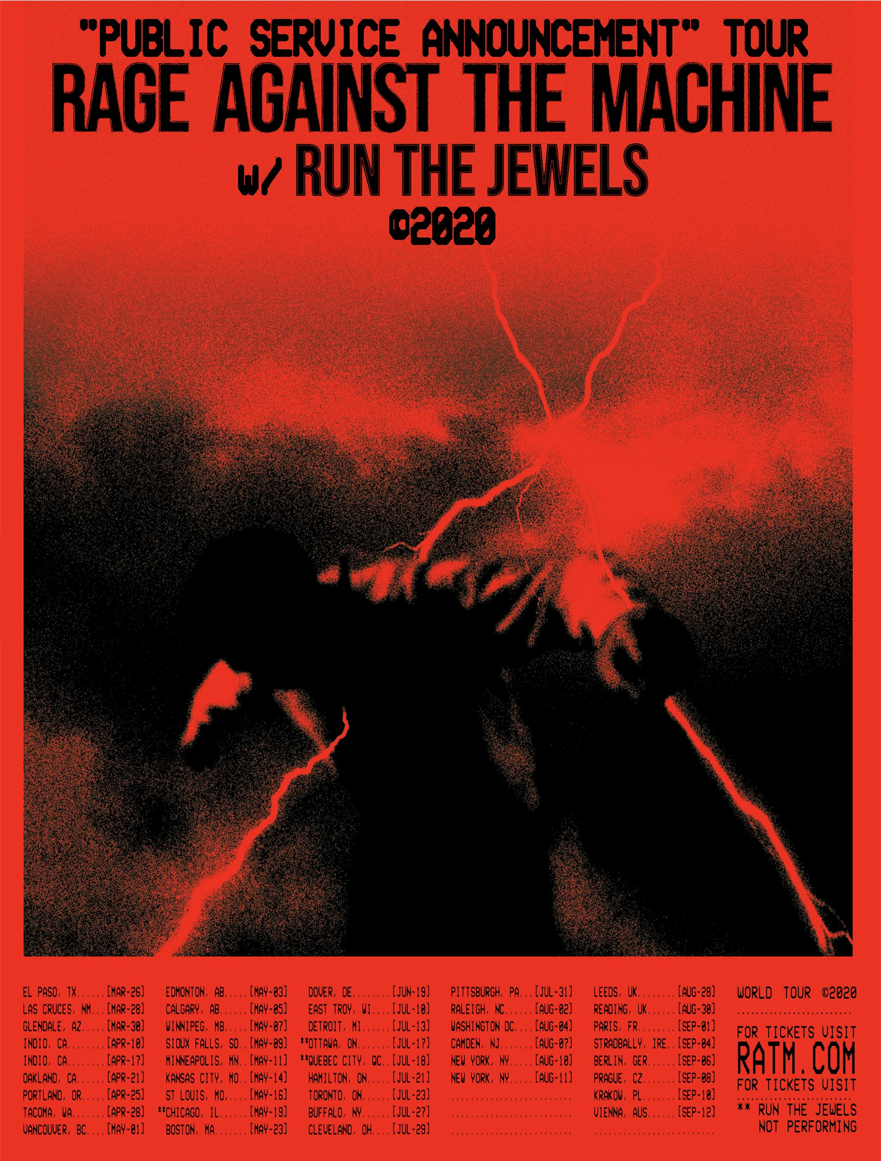 Rage Against The Machine Announce Reunion Tour With Run The Jewels