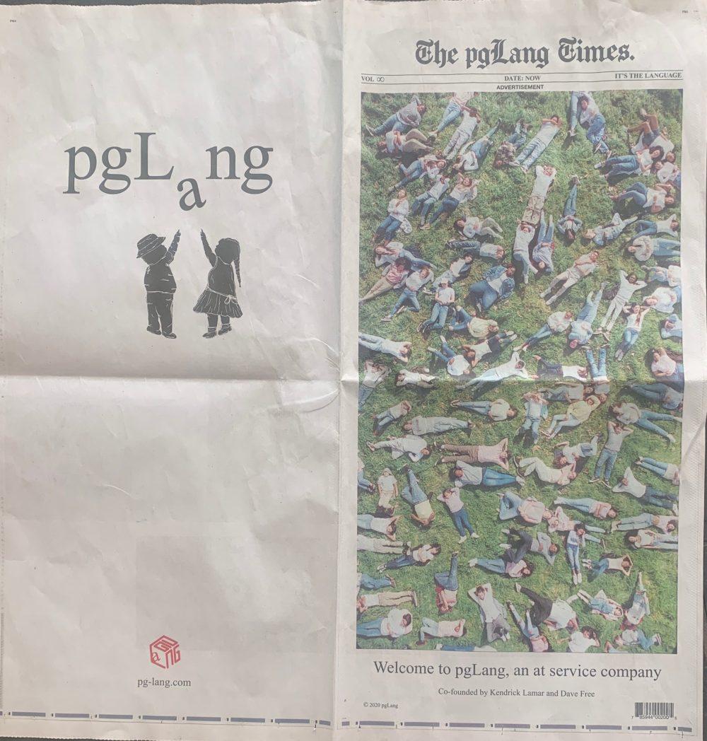 The pgLang Times