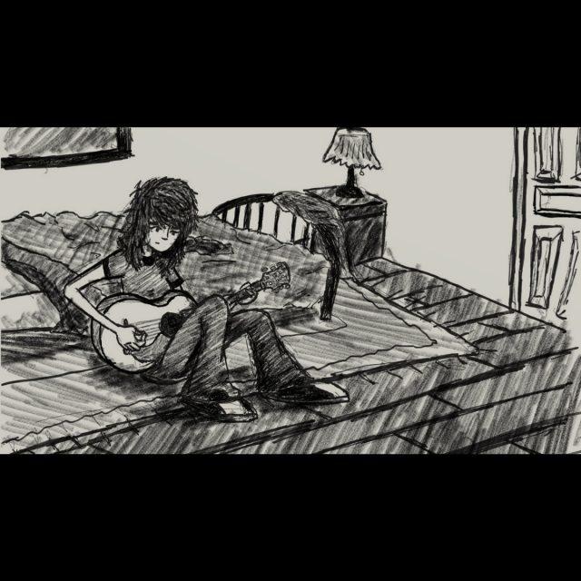 "awakebutstillinbed - ""Me"" (The 1975 Cover)"