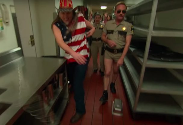 Here's Weird Al As Ted Nugent On The Reno 911! Revival