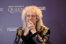 Queen Holds Press Conference In Seoul