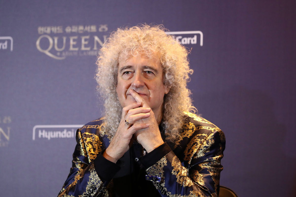"""Brian May Tears Butt Muscles """"To Shreds"""" In Gardening Injury ..."""
