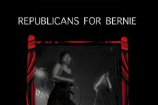 Lily And Horn Horse - Republicans For Bernie