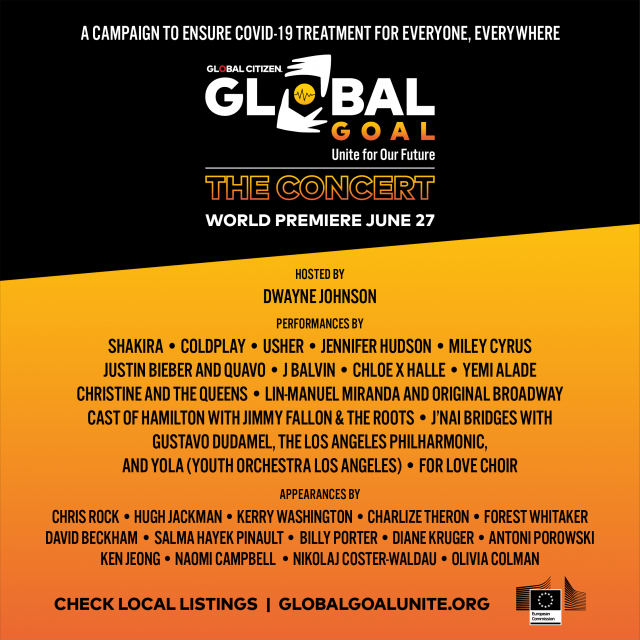 Global Goal: Unite For Our Future Concert