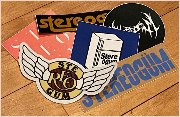 Stereogum Stickers