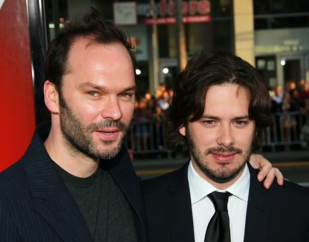 Nigel Godrich & Edgar Wright at Scott Pilgrim premiere