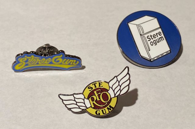 'Save Stereogum' Pins