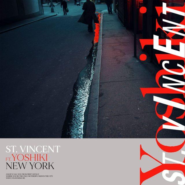 "St. Vincent - ""New York"" (Feat. Yoshiki)"