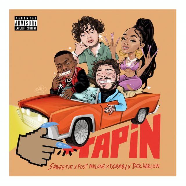 "Saweetie - ""Tap In"" (Feat. Post Malone, DaBaby, & Jack Harlow)"