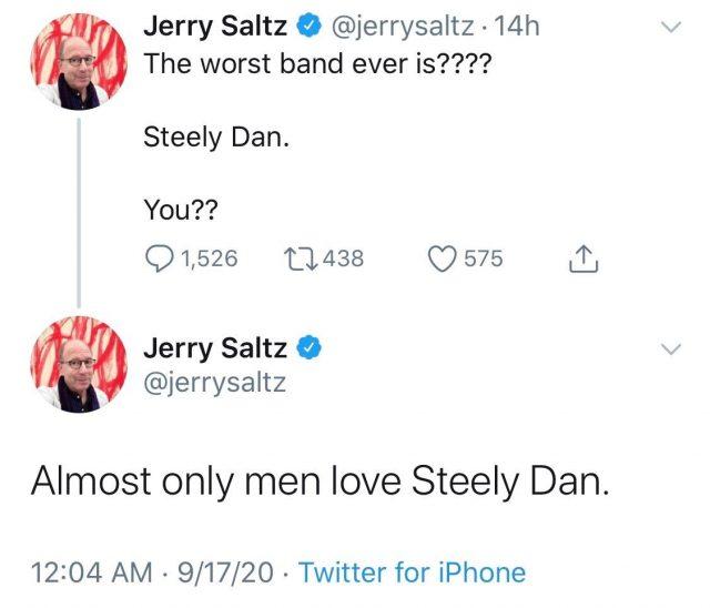 Jerry Saltz