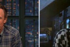 Seth-Meyers-and-Michael-Stipe