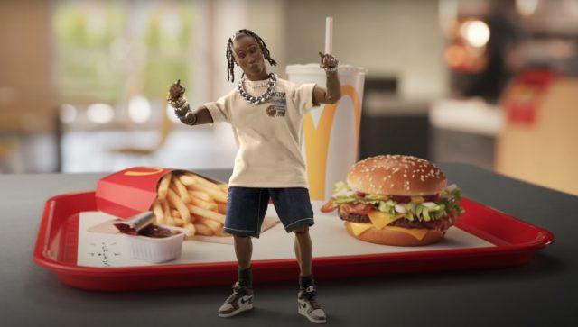 Travis Scott x McDonald's Partnership Yields Ridiculous Merch - Stereogum