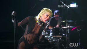 Miley Cyrus iHeartRadio Music Festival - Heart Of Glass