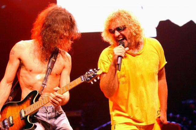 Eddie Van Halen & Sammy Hagar