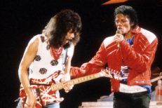 Eddie Van Halen & Michael Jackson