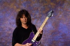 Van Halen Portrait At Eddie's House