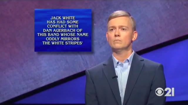 Jack White & Dan Auerbach On Jeopardy 2020