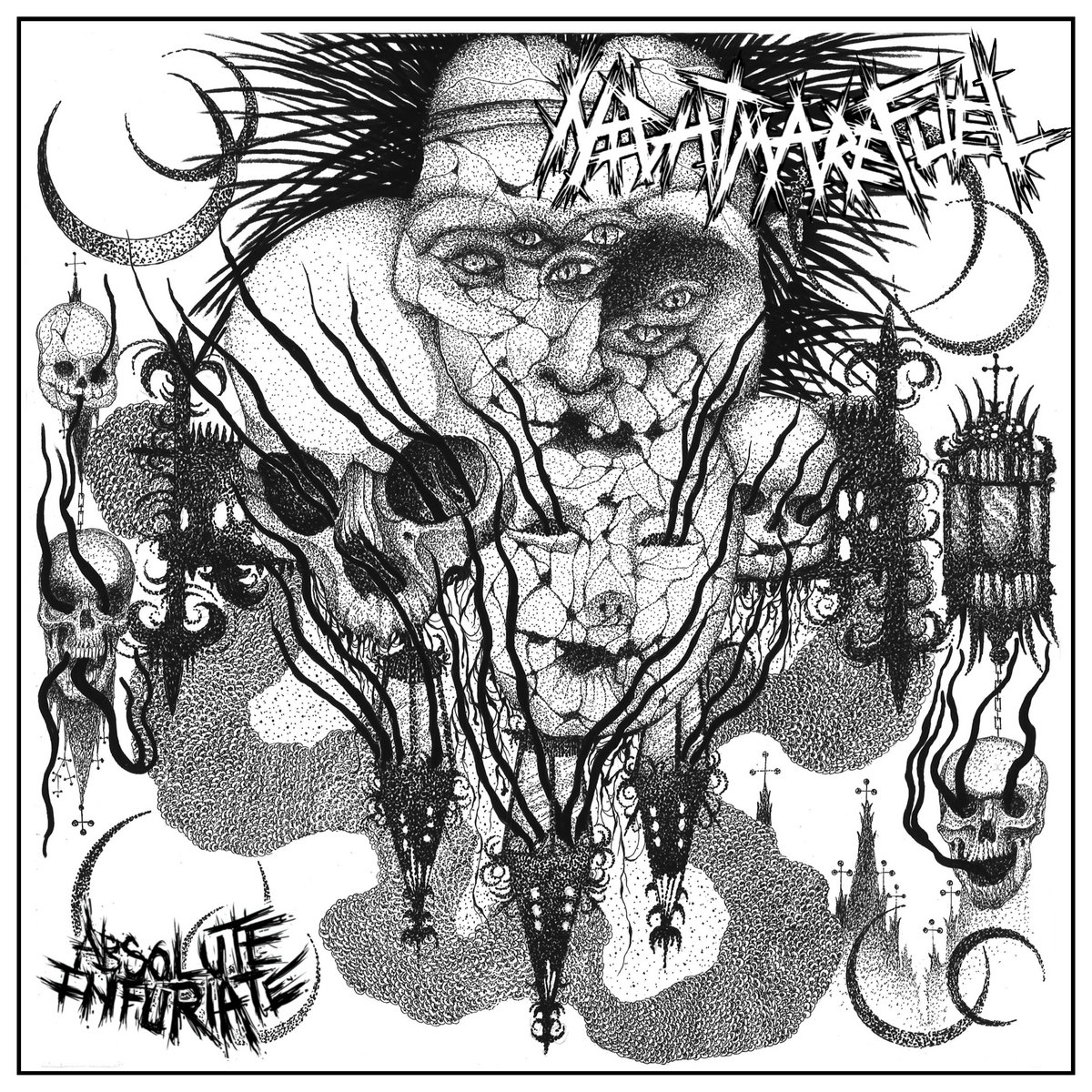 Stream Nightmare Fuel's Supremely Ugly Crust Punk EP Absolute Infuriate
